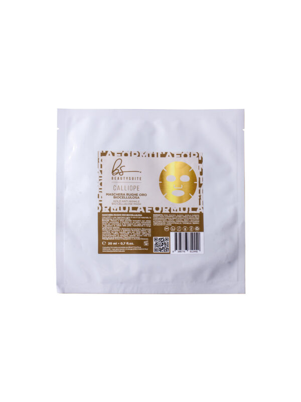 Maschera Rughe Oro Biocellulosa